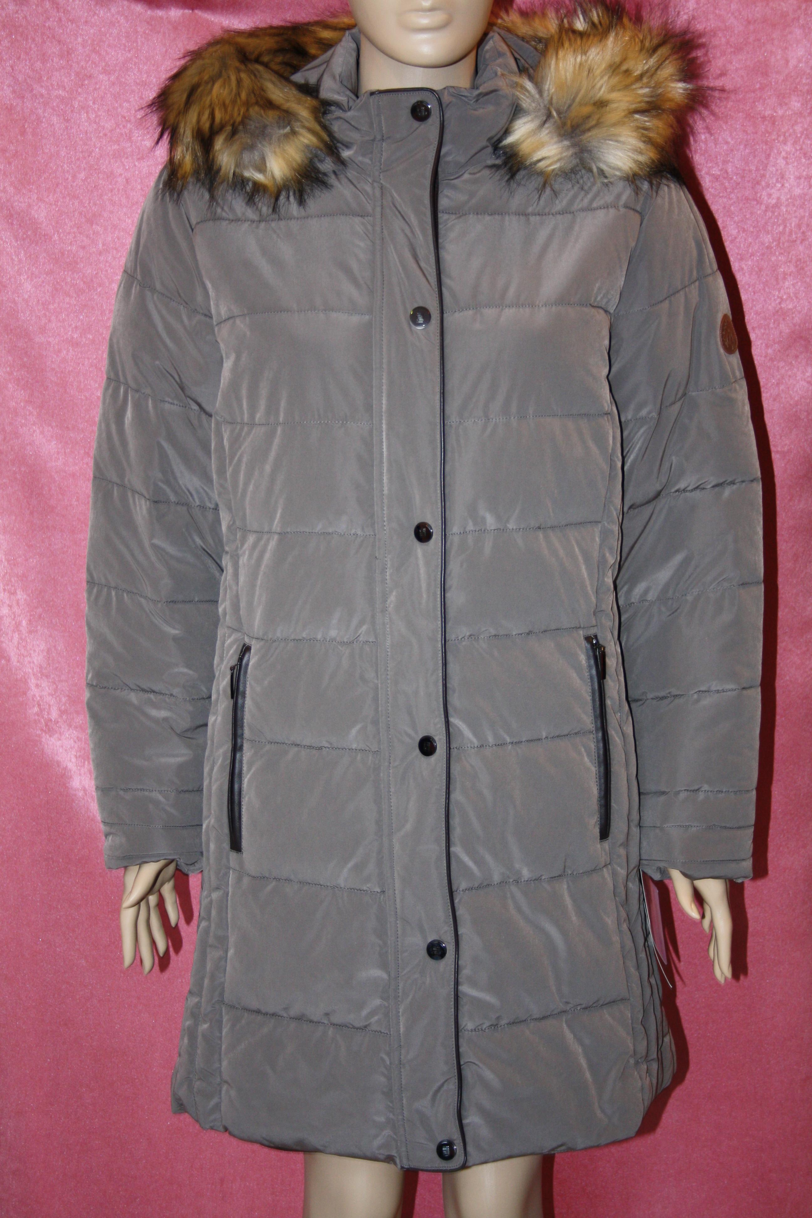 WEGA szürkés-drapp kabát 992d88462f